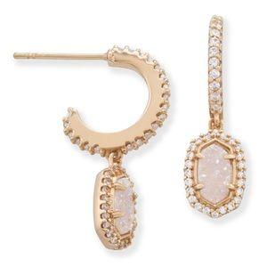 Kendra Scott Cale Hoop Earrings, Yellow Gold